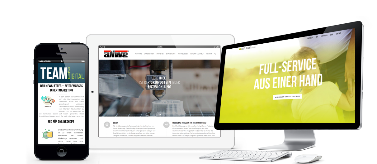 Webdesign Agentur Dortmund Showcase